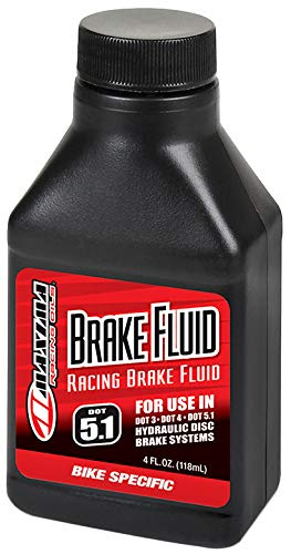 Maxima Brake - Maxima Racing Dot-5.1 Brake Fluid; 4Oz - 80-82904