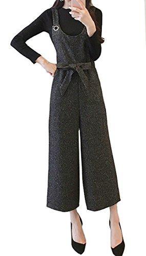 飾り羽シャット帆Monissy サロペット 新型 着やせ 蝶結び 可愛い きれい カジュアル シンプル オールインワン 学生 新型 着やせ 快適