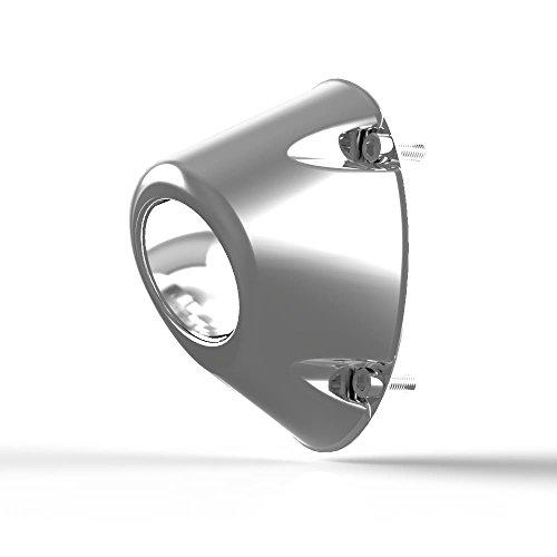 HMF Engineering 6996708 Euro Vertical Elliptical End Cap - Polished