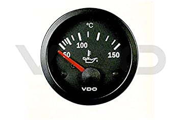 VDO cabina Vision Medidor de temperatura de aceite de 50 - 150: Amazon.es: Coche y moto