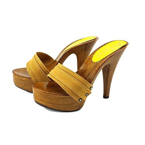 OCRA kiara cm Zoccoli shoes Tacco 13 K9101 OCRA RgPSEqwOc