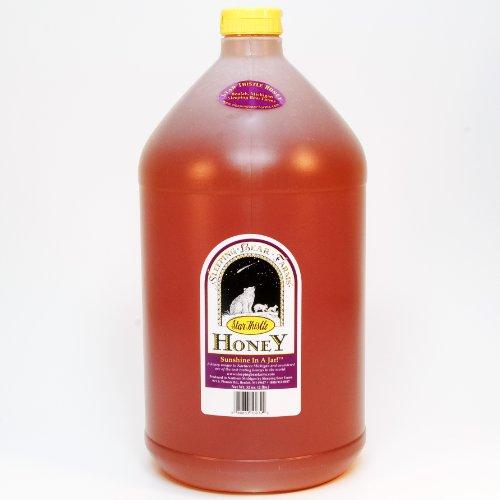 (Star Thistle Honey 12 lb. Jug (Gallon) Bulk Honey Unpasteurized Unblended No Additives Pure Michigan)