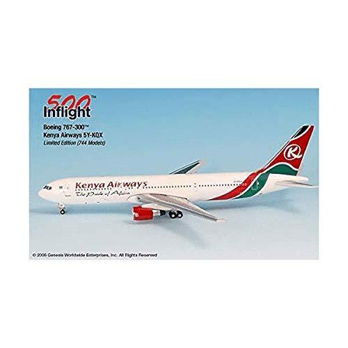 767 300 Airplane - Kenya Airways 5Y-KQX 767-300 Airplane Miniature Model Metal Die-Cast 1:500 Part# A015-IF5763001