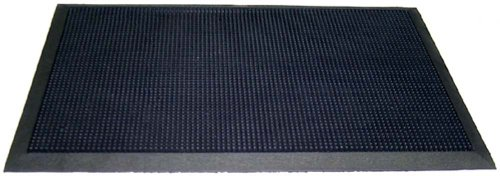 Durable Corporation Heavy Duty Rubber Fingertip Entrance Mat, for Outdoor Areas 28