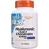 Doctor's Best Hyaluronic Acid with Chondroitin Sulfate, featuring BioCell Collagen, Non-GMO, Gluten Free, Soy Free, Joint Support
