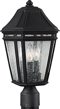 Murray Feiss OL11307BK LED Londontowne Outdoor Post Lighting, 54W, Black