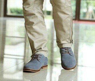 Wildleder business Herren casual grau Schuhe Schuhe 5 43 wtqS1Fpq