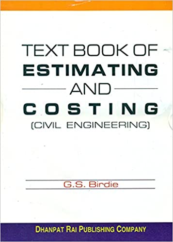 Buy a text book of estimating and costing for civil engineering book buy a text book of estimating and costing for civil engineering book online at low prices in india a text book of estimating and costing for civil fandeluxe Image collections