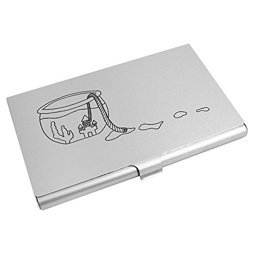 Azeeda Business Credit Card Wallet Card 'Fishbowl Holder CH00000546 Escape' rZPrxv