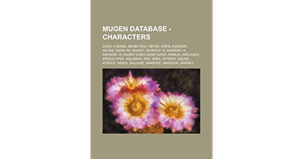 Mugen Database - Characters: 20000, A-Bomb, Abubo Rao, Abyss