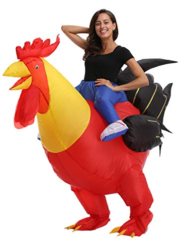 Yale Bulwer Animal Inflatable Rider Costume Halloween Cosplay Blow Up Outfits Big Cock