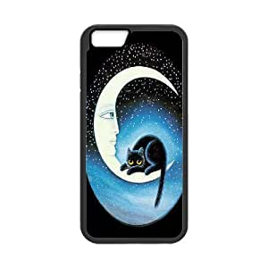 """Sun and Moon, Cat New Printed Case for Iphone6 Plus 5.5"""", Unique Design Sun and Moon, Cat Case"""