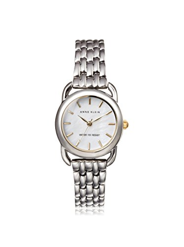 Anne Klein Women's AK-1365MPTT Silver Metal Analog Quartz Watch
