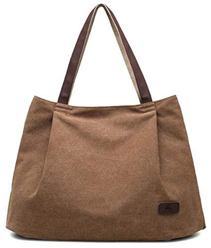Xue de niña diseño Negro Bolso marrón de Hombro Mujer Talla de Mujer zhou® única Lona para li Bolso q4nrBOqA