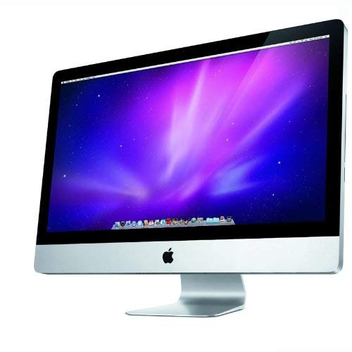 Apple iMac All in One i3 3.2GHz 4GB 1TB DVD-RW Desktop 27in LCD MC510LL/A (Renewed) (Apple Refurbished Imac)