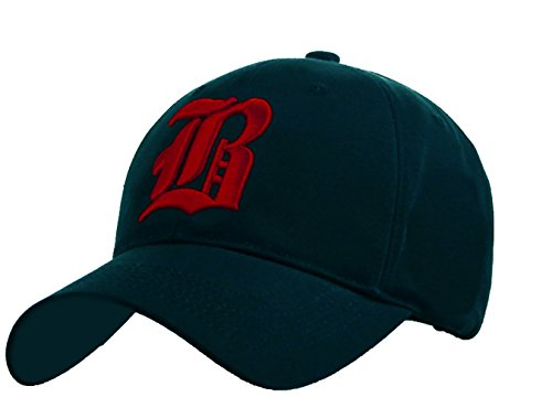 4sold - Gorra de béisbol - para hombre B navy blue red