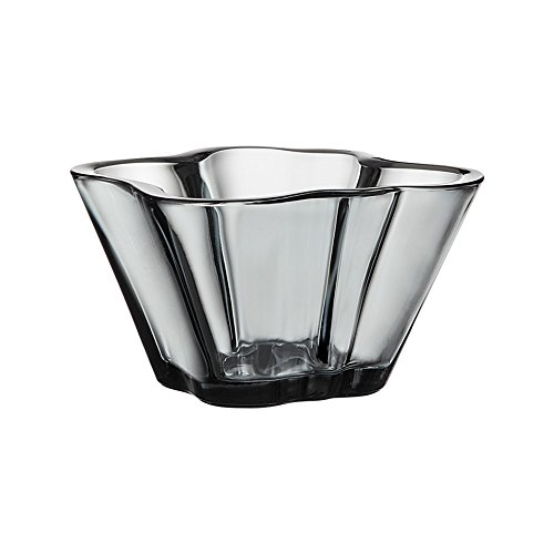 Iittala Alvar Aalto Collection Aalto Glass Bowl 75 mm, Grey