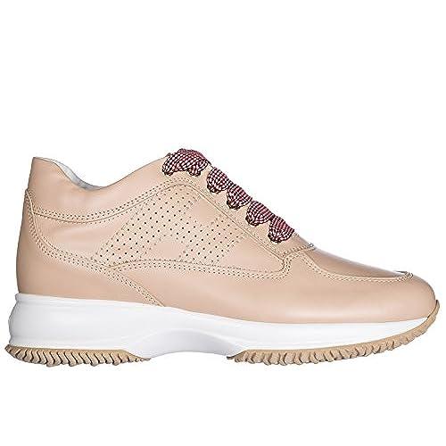 dee81228777 85% OFF Hogan Zapatos Zapatillas de Deporte Mujer EN Piel Nuevo Interactive  Beige