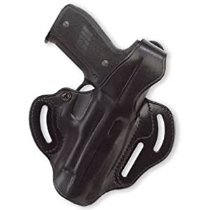 Galco Cop 3 Slot Holster for Ruger SR9 (Black, Right-hand)