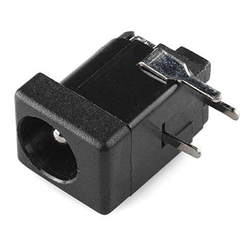 SparkFun Electronics PRT-10811 SparkFun Accessories DC Barrel Jack Adapter - Breadboard Compatible