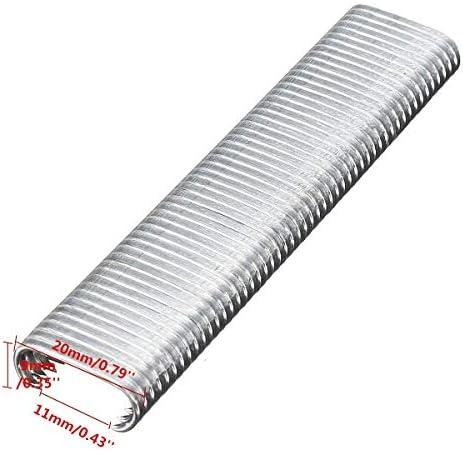 SSY-YU プライヤークリップ&豚リングマニュアルC型ステープルガンフィードフェンスフェンシングネイラープライヤー2500pcs C型多機能ツール ペンチ 切断工具