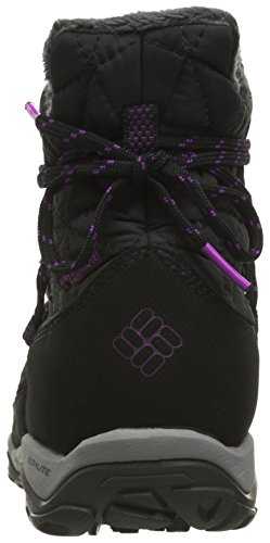 Columbia Loveland Shorty Omni-Heat, Botas de Nieve para Mujer Negro (Black, Bright Plum 010Black, Bright Plum 010)