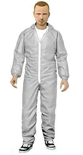 Jesse Costume Breaking Bad (Breaking Bad Jesse Pinkman In White Hazmat Suit Figure)