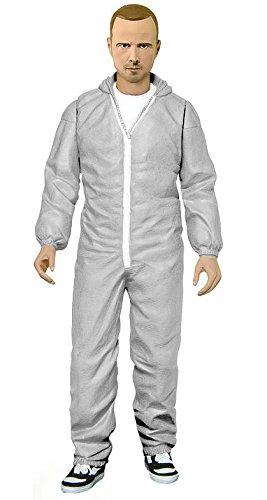 Breaking Bad Jesse Pinkman In White Hazmat Suit Figure