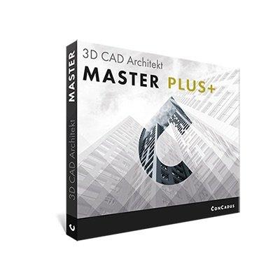 3D CAD Architekt Master Version 1.5 PLUS+ - Architektursoftware für Profis