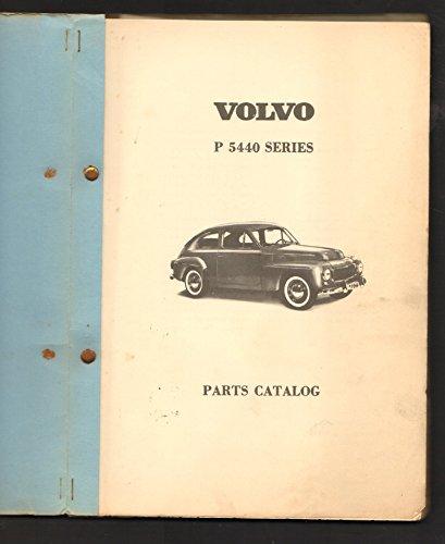Volvo P 5440 Series Parts Catalog (Volvo Parts Catalog)