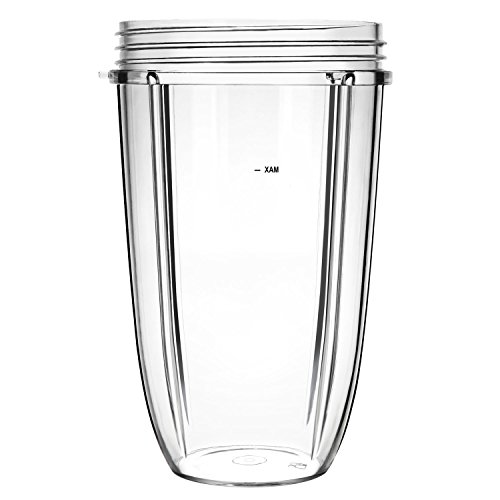Nutribullet 24 Ounce Tall Cup Blender Juicer Mixer Accessory Replacement Part for Pro 900 Watt