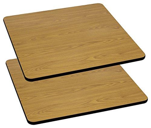 FLASH Furniture 2 Pk. 36'' Square Natural Laminate Table Top