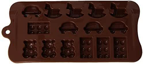 Fat Daddio's SCM-027 Child's Play Chocolate and Candy Mold by Fat Daddios