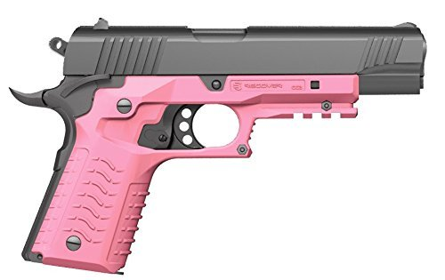 Grips Pistol Pink - Recover  CC3 H 1911 Grip & Rail System, Pink, Universal
