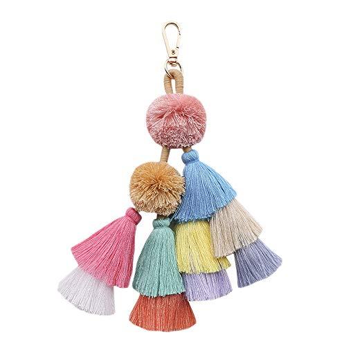 - Women's Straw Handbags Large Summer Beach Tote Woven Round Pompom Handle Shoulder Bag