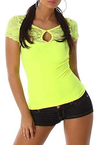 Boxin - Camiseta sin mangas - para mujer Giallo chiaro