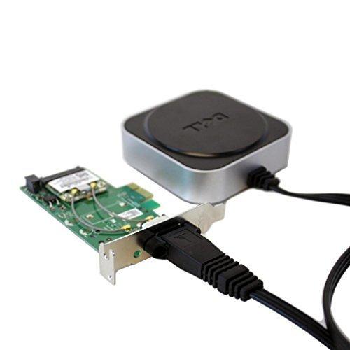 New Dell DW1520 KVCX1 8VP82 Wireles Low Profile PCI-e Card w/ RU297 WX492 Antena by Dell (Image #4)