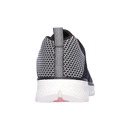 Go Walk Black Sneaker Donna 4 Skechers dp6vFd
