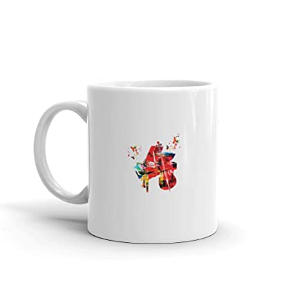 Amazon com: Dozili Funny Coffee Mug - Colorful Music Background With