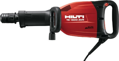 Hilti TE 1500-AVR Breaker - 3457407 - Dust Control Package with Vacuum