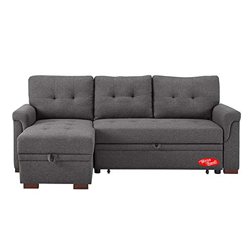 Amazon.com: Bliss Brands - Juego de sofá de cama con funda ...