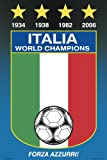 Italy National Soccer Team Poster