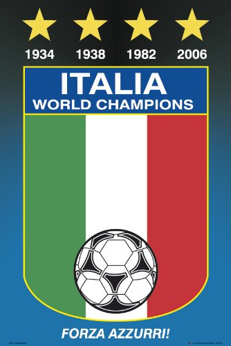 Italy National Soccer Team Poster by GB Eye