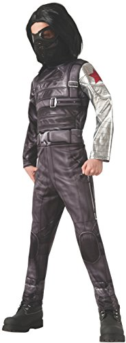 Winter Soldier Costume Accessories (Rubies Captain America: The Winter Soldier Deluxe Costume, Child Large)