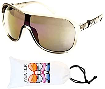 A97-vp Style Vault Turbo Sunglasses (048 frost gray-purple, mirrored)