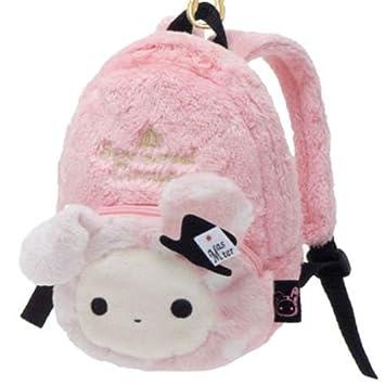 f3e812e1d67 pink Sentimental Circus rabbit plush backpack bag: Amazon.co.uk: Toys &  Games