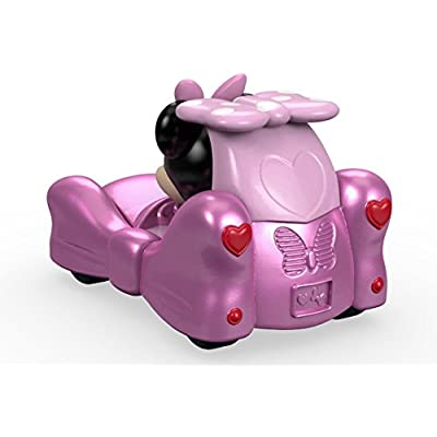 Fisher-Price Disney Mickey & the Roadster Racers, Minnie's Bow-Tastic Bow-Mobile: Toys & Games