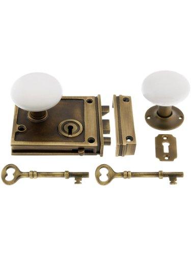 horizontal rim lock set - 7