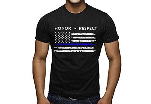 SR American Respect Policemen T Shirt