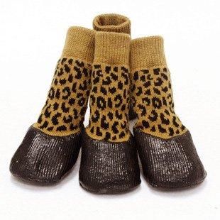 Perro Mascota Zapatos impermeables al aire libre calcetines calzado antideslizante mediano,perros grandes en el